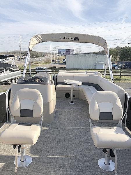 2019 New 2019 G3 Boats Suncatcher V 20FC Nashville Marine-2