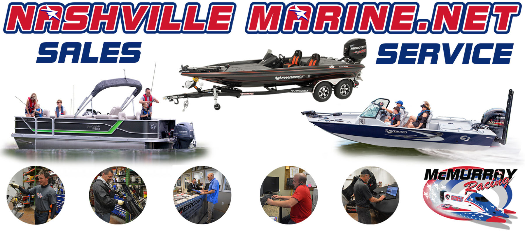 Nashville Marine - Boat Sales Parts Fibreglass Services