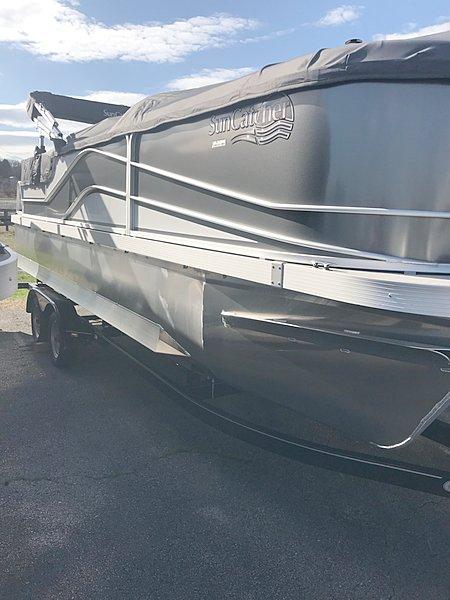Nashville Marine - New 2019 G3 Boats Suncatcher V 322SS #299 - 1