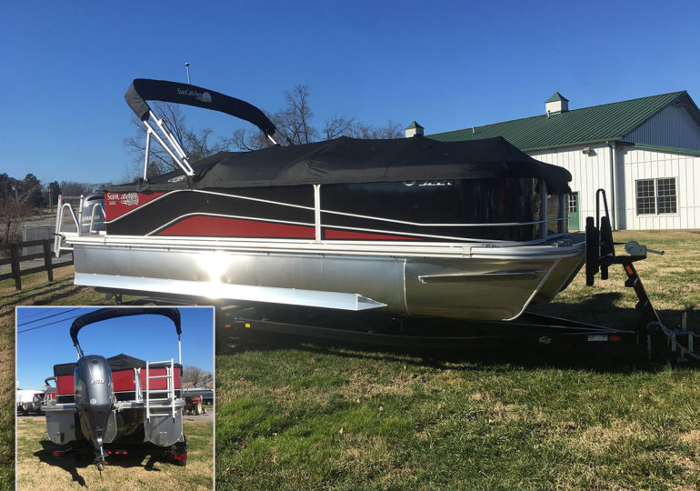 2019 G3 Boats Suncatcher V 322C  #298