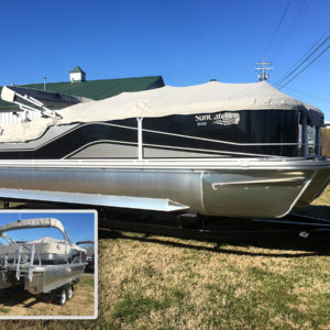 Nashville-Marine-Nashville-Boat-Show---2019-G3-Suncatcher-V-Pontoon-Boat-322SS-&-150-yamaha-Motor