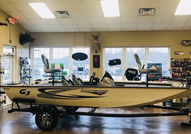 New 2020 G3 Boats Sportsman 1710 #320