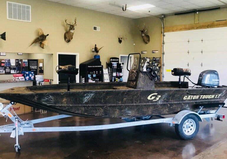 2021 G3 Boats Gator Tough 17CC  #350