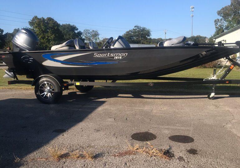 2021 G3 Boats Sportsman 1610 Vinyl #354