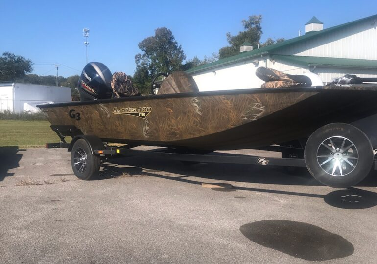 2021 G3 Boats Sportsman 1710 PFX  Vinyl  #355