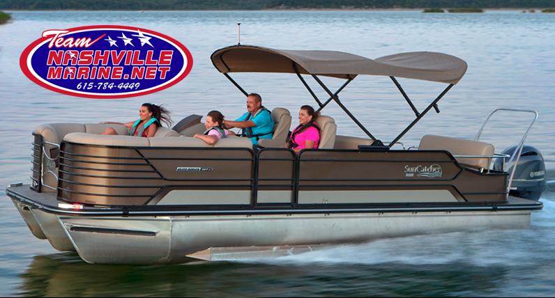 Nashville Marine Suncatcher Pontoon Boats